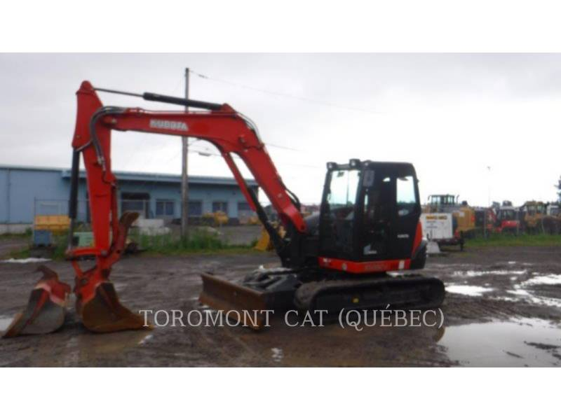 KUBOTA CORPORATION PELLES SUR CHAINES KX080-4 equipment  photo 3