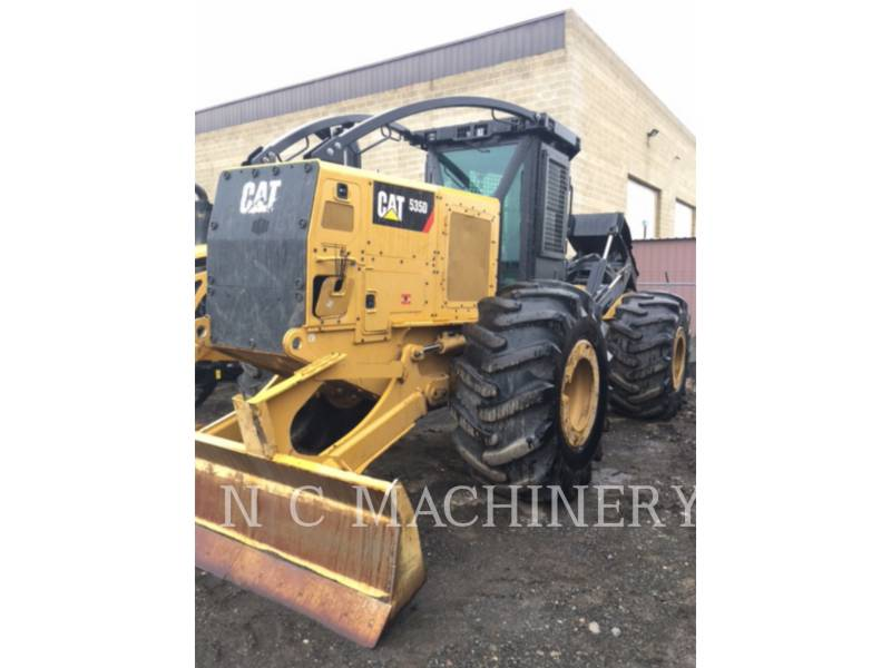 CATERPILLAR MACHINE FORESTIERE 535D equipment  photo 1