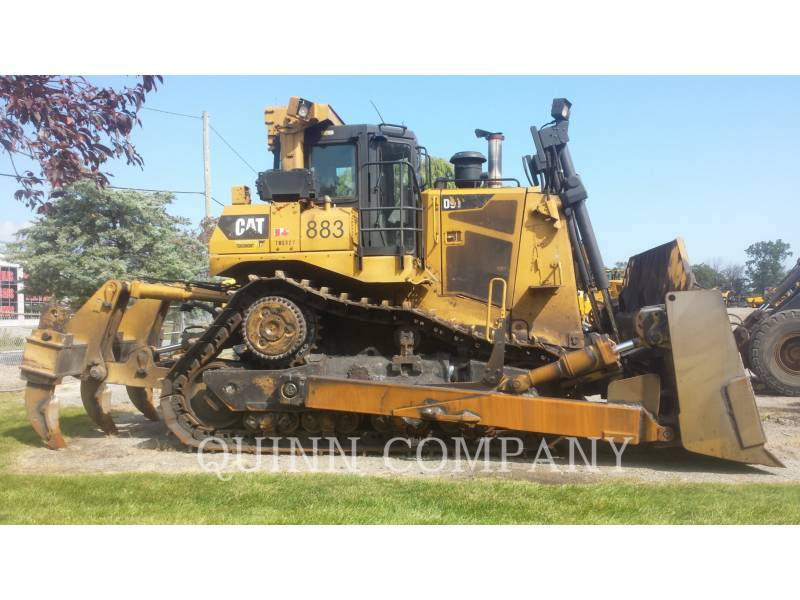 CATERPILLAR KETTENDOZER D9T equipment  photo 1