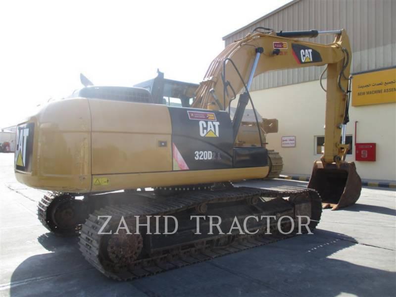 CATERPILLAR TRACK EXCAVATORS 320D2L equipment  photo 5