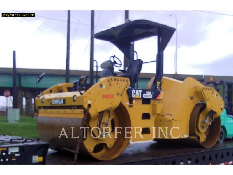 CATERPILLAR VIBRATORY DOUBLE DRUM ASPHALT CB54 equipment  photo 2
