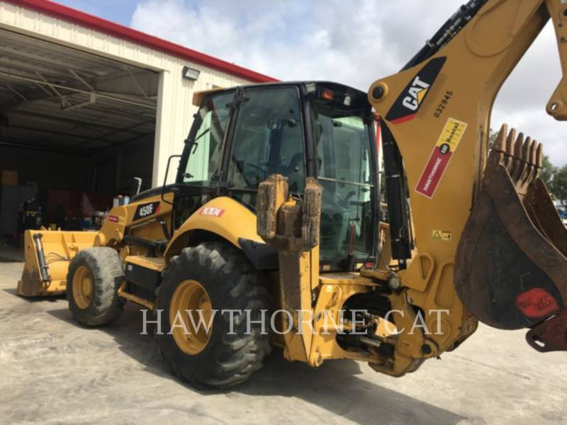 CATERPILLAR BACKHOE LOADERS 450F CB equipment  photo 2