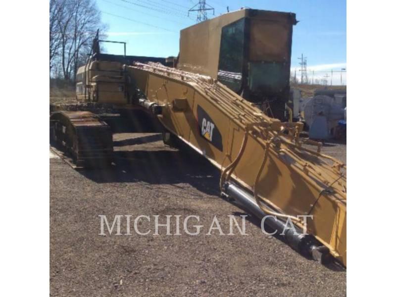 CATERPILLAR TRACK EXCAVATORS 345B MH equipment  photo 2