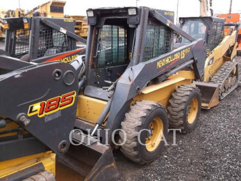 NEW HOLLAND LTD. SKID STEER LOADERS LS180 equipment  photo 1