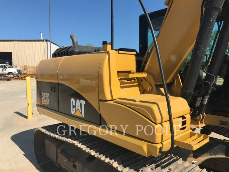 CATERPILLAR TRACK EXCAVATORS 315D L equipment  photo 11