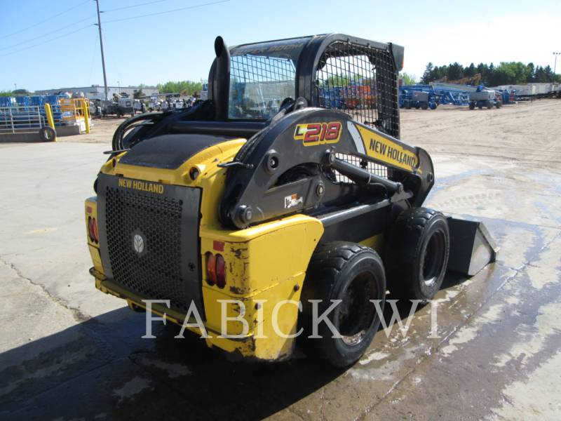NEW HOLLAND LTD. SKID STEER LOADERS L218 equipment  photo 4