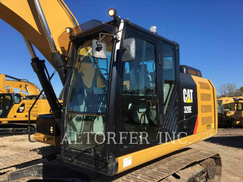 CATERPILLAR KETTEN-HYDRAULIKBAGGER 320EL TH equipment  photo 2