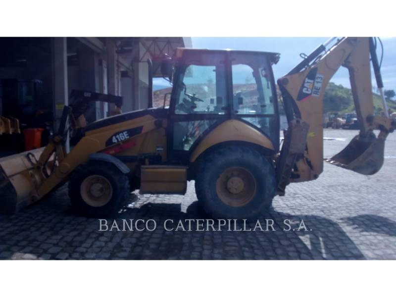 CAT TRADE-IN BACKHOE LOADERS 416E equipment  photo 9