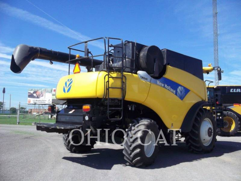 CASE/NEW HOLLAND COMBINADOS CR9040 equipment  photo 5