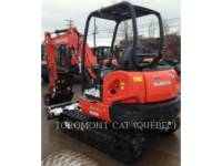 KUBOTA CORPORATION PELLES SUR CHAINES KX040-4 equipment  photo 8