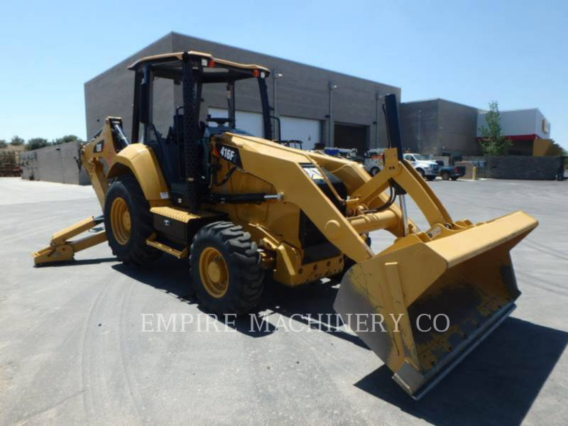 CATERPILLAR RETROEXCAVADORAS CARGADORAS 416F2 4EO equipment  photo 1