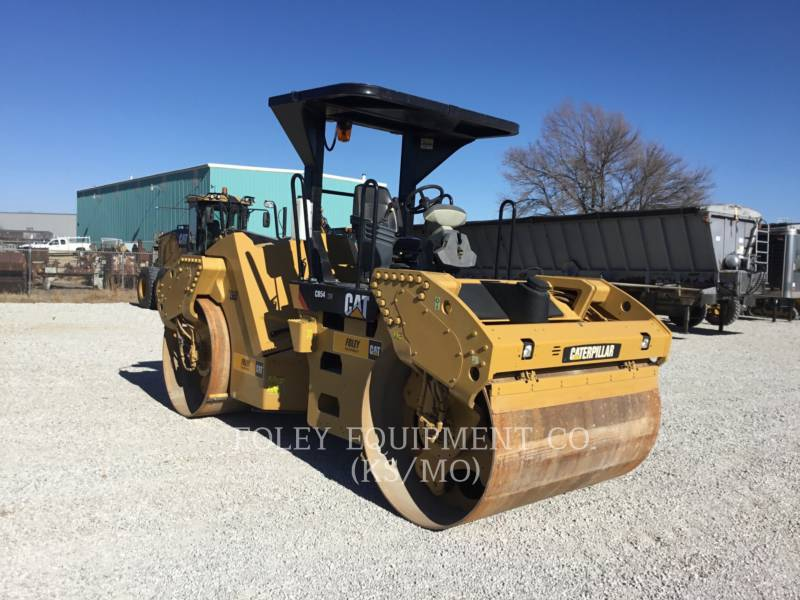 CATERPILLAR TAMBOR DOBLE VIBRATORIO ASFALTO CB54XW equipment  photo 2