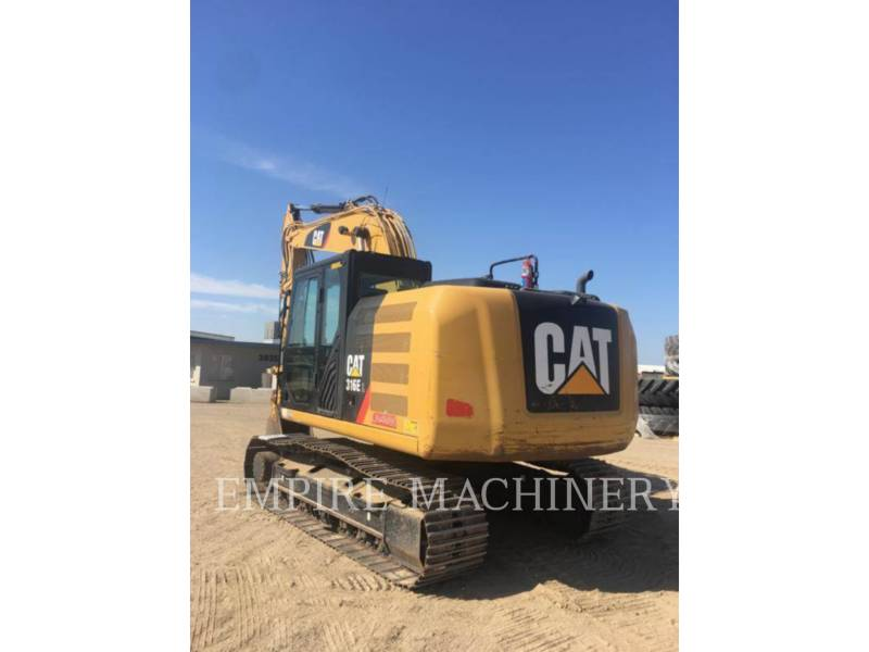 CATERPILLAR KETTEN-HYDRAULIKBAGGER 316EL equipment  photo 1