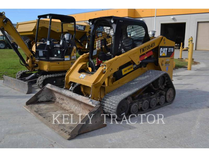 CATERPILLAR MULTI TERRAIN LOADERS 277D equipment  photo 2