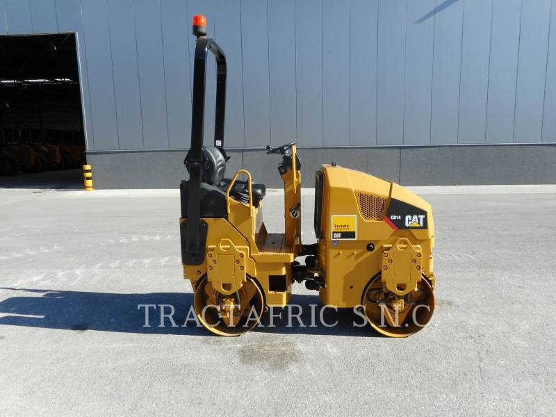CATERPILLAR TAMBOR DOBLE VIBRATORIO ASFALTO CB14 equipment  photo 1
