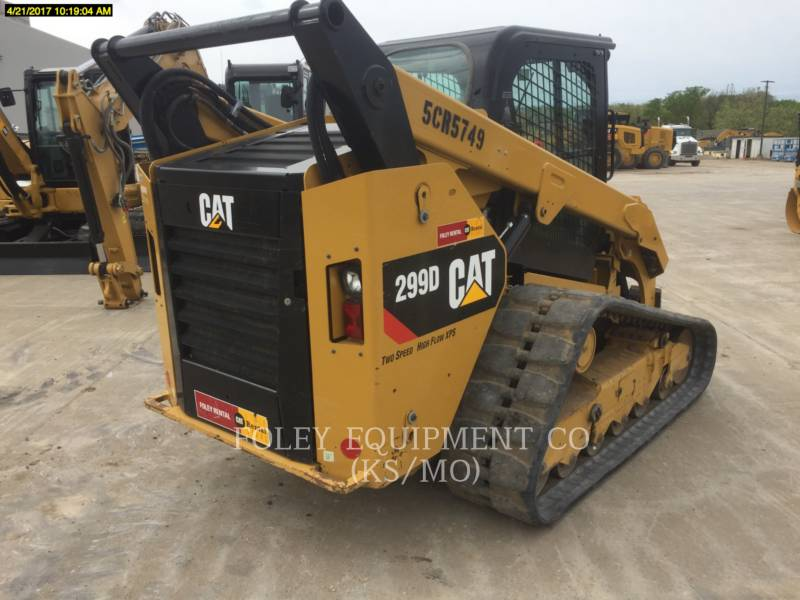 CATERPILLAR CHARGEURS COMPACTS RIGIDES 299DXPS2CA equipment  photo 3