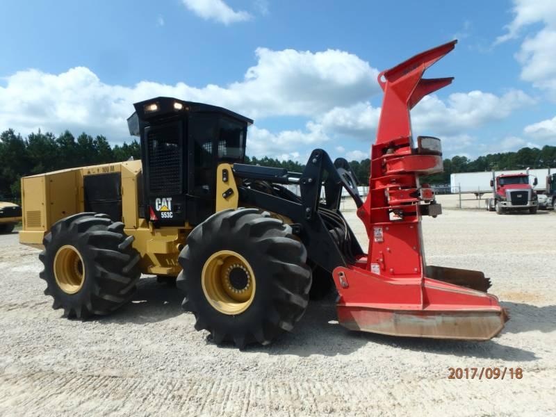 CATERPILLAR 林業 - フェラー・バンチャ - ホイール 553C equipment  photo 1