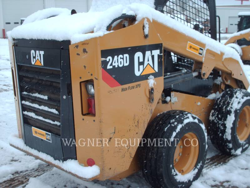 CATERPILLAR SKID STEER LOADERS 246D HF equipment  photo 2