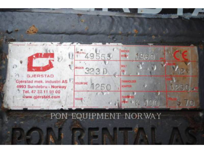 CATERPILLAR EXCAVADORAS DE CADENAS 323DL equipment  photo 18