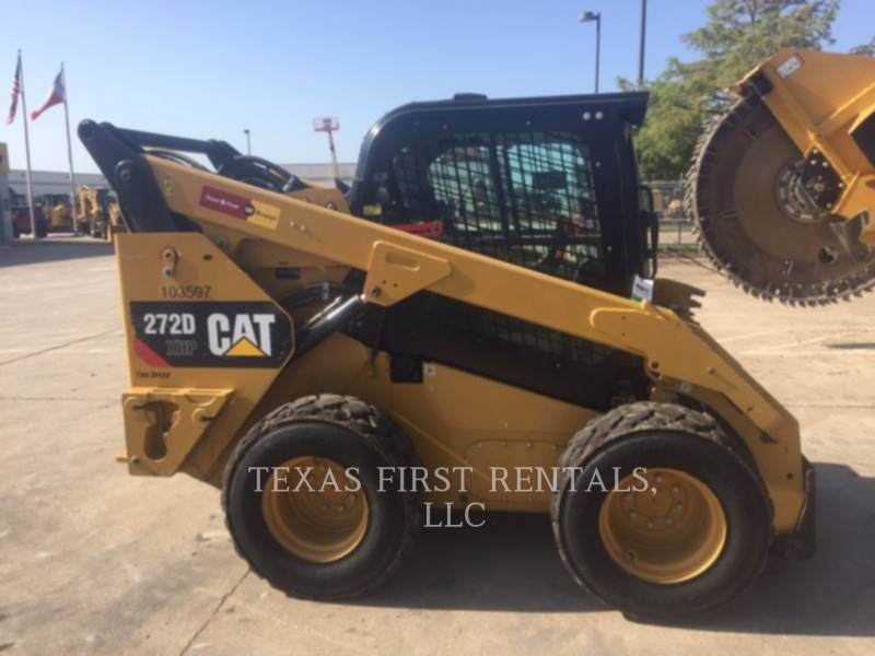 CATERPILLAR SKID STEER LOADERS 272 D XHP equipment  photo 3