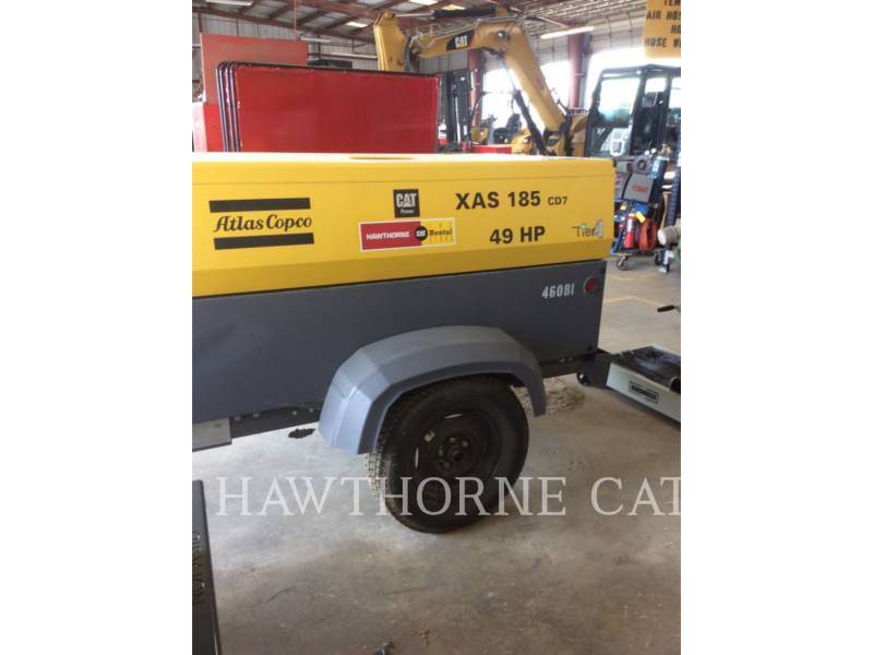 ATLAS-COPCO AIR COMPRESSOR (OBS) 185 XAS equipment  photo 3