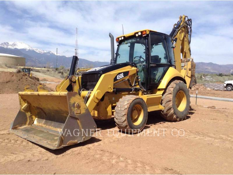 Caterpillar BULDOEXCAVATOARE 450E 4WDE equipment  photo 1
