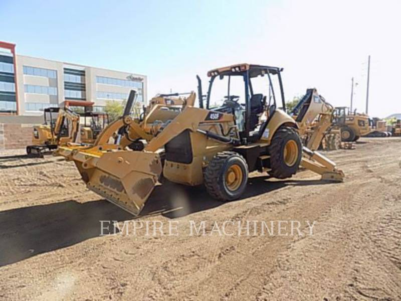 CATERPILLAR バックホーローダ 450F equipment  photo 4