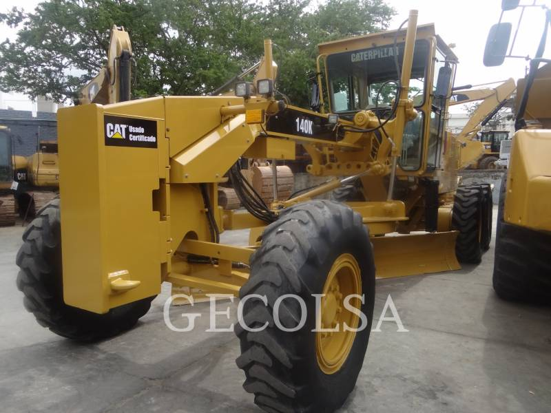 CATERPILLAR MOTONIVELADORAS 140K equipment  photo 7