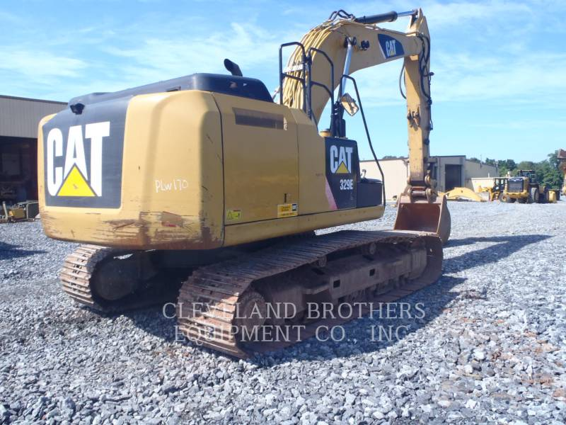 CATERPILLAR TRACK EXCAVATORS 329EL equipment  photo 3