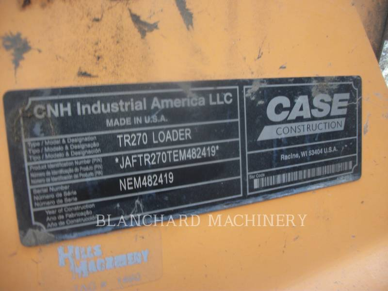 CASE CARGADORES DE CADENAS TR270 equipment  photo 8