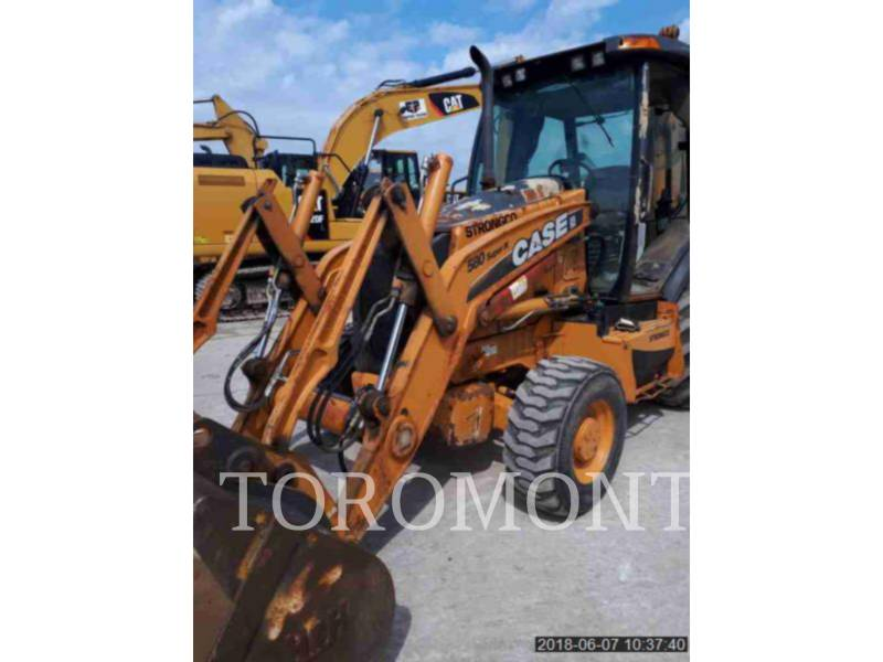 CASE/NEW HOLLAND BAGGERLADER 580SN equipment  photo 1