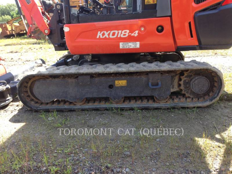 KUBOTA CANADA LTD. PELLES SUR CHAINES KX018-4 equipment  photo 15