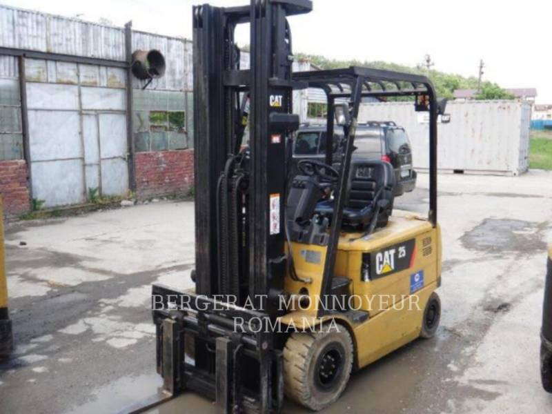 MITSUBISHI CATERPILLAR FORKLIFT FORKLIFTS EP25KPAC equipment  photo 1