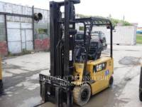 Equipment photo MITSUBISHI CATERPILLAR FORKLIFT EP25KPAC ELEVATOARE CU FURCĂ 1