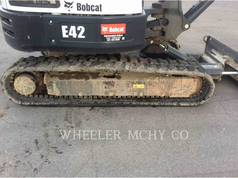 BOBCAT TRACK EXCAVATORS E42 equipment  photo 10