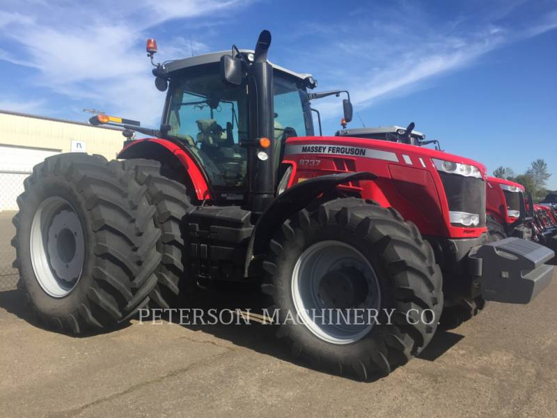AGCO-MASSEY FERGUSON TRACTEURS AGRICOLES MF8737 equipment  photo 2