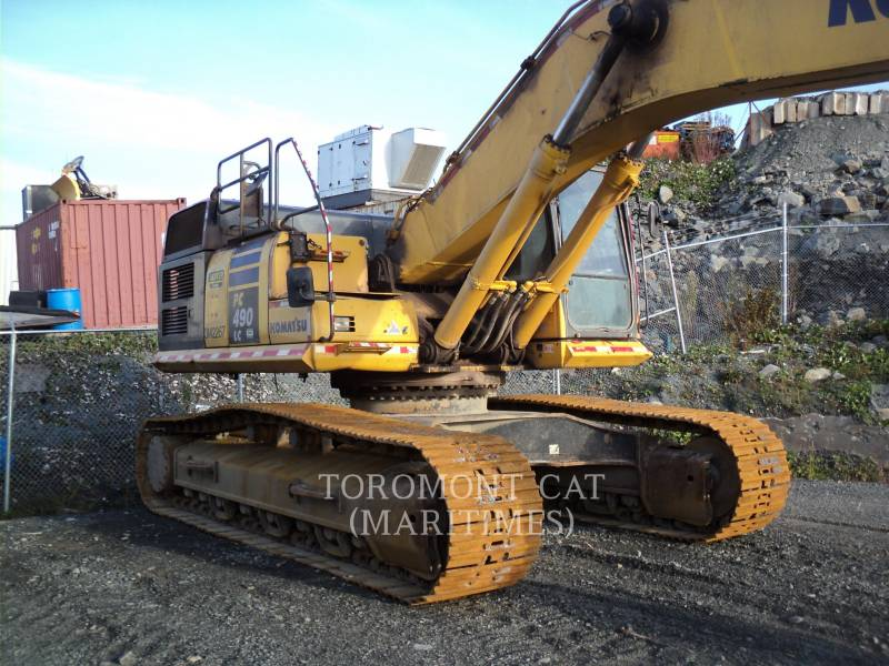 KOMATSU TRACK EXCAVATORS PC490LC-10 equipment  photo 5