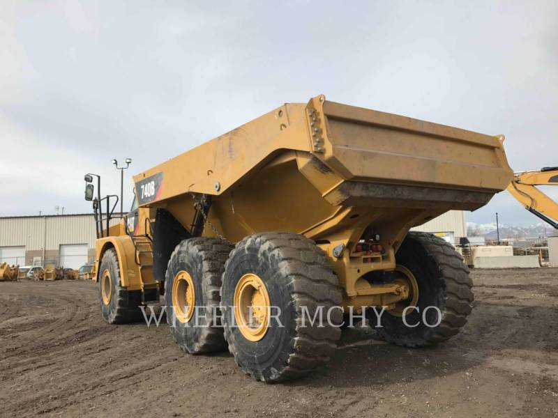 CATERPILLAR DUMPER ARTICOLATI 740B TG equipment  photo 5