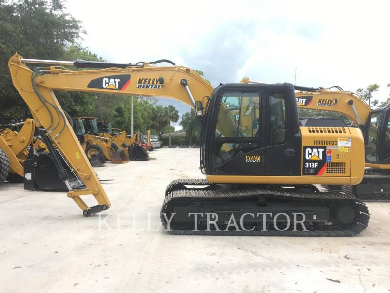 CATERPILLAR TRACK EXCAVATORS 313FL GC equipment  photo 2