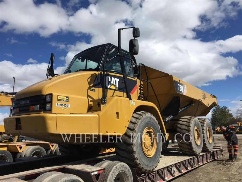 CATERPILLAR ARTICULATED TRUCKS 730 TG equipment  photo 12