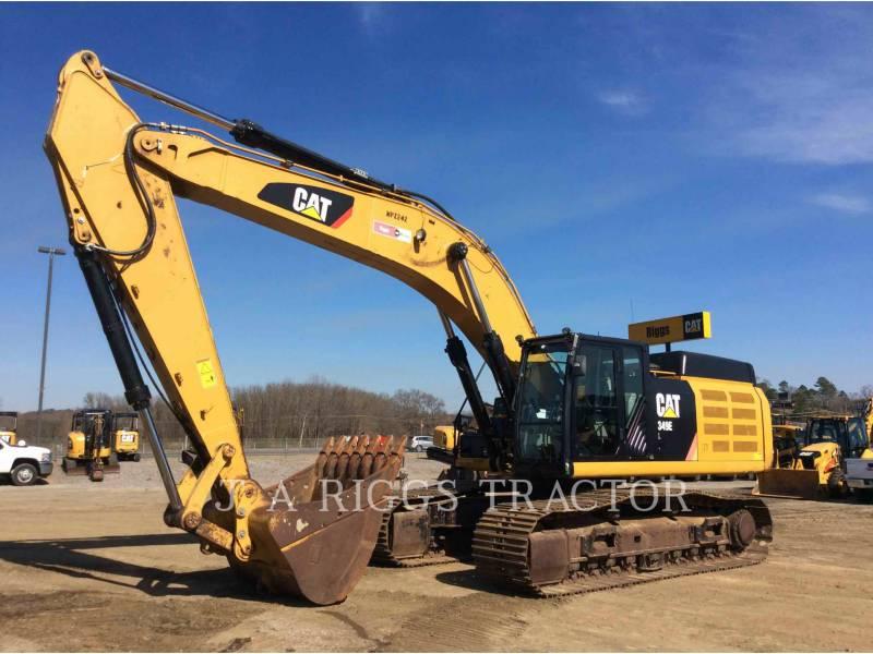 CATERPILLAR TRACK EXCAVATORS 349E 12C equipment  photo 1