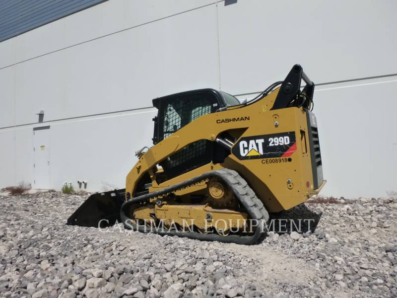 CATERPILLAR CHARGEURS SUR CHAINES 299D C equipment  photo 2