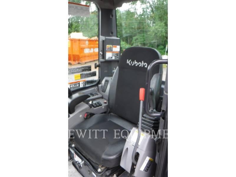 KUBOTA CANADA LTD. TRACK EXCAVATORS U55 equipment  photo 10
