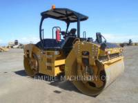 CATERPILLAR TANDEMVIBRATIONSWALZE, ASPHALT CB66B equipment  photo 3