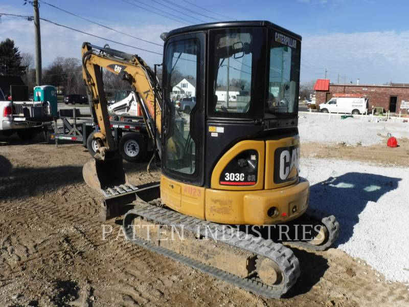CATERPILLAR KETTEN-HYDRAULIKBAGGER 303CCR AIR equipment  photo 2