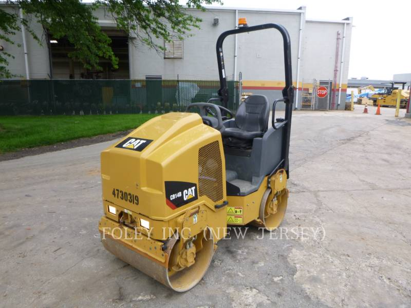CATERPILLAR TANDEMOWY WALEC WIBRACYJNY DO ASFALTU (STAL-STAL) CB14B equipment  photo 4