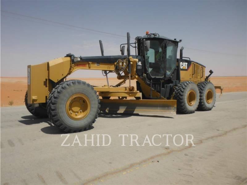 CATERPILLAR MOTORGRADER 14LAWD equipment  photo 2