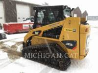 CATERPILLAR CHARGEURS TOUT TERRAIN 247B3 CQ equipment  photo 3