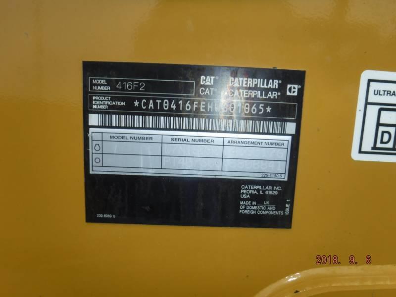 CATERPILLAR TERNE 416F2ST equipment  photo 16