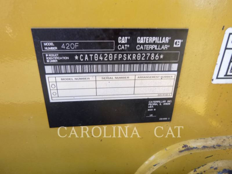 CATERPILLAR RETROEXCAVADORAS CARGADORAS 420F equipment  photo 16